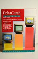 DeltaPoint DeltaGraph Delta Point Graph Apple Macintosh Presentation Software