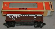 Lionel Trains 6-19289 6464-197 Monon The Hoosier Line Box Car