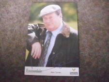 Emmerdale Television Collectable Pre-Printed TV Autographs