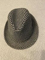 Adult Men's Houndstooth Fedora Hat, Gameday Collect. Large, Bear Bryant Inspired