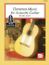 FLAMENCO MUSIC FOR ACOUSTIC GUITAR BOOK NEW