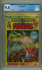 Marvel Feature #2 (CGC 9.4) OW/W pgs; 2nd app. Defenders; Andru; 1972 (c#23645)