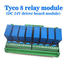 (USA) OEG 8-Channel Relay Socket Eight Panels Driver Boards DC 24V NPN