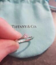 Tiffany & Co - Wedding And Engagement Ring- Platinum