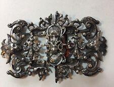 Vintage Ornate Gothic Devils Woman's Belt Buckle