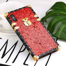 For iphone X 8 7 Plus 6S Luxurious Bling Glitter Soft TPU shockproof Back Case