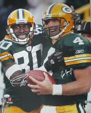 Packers BRETT FAVRE & DONALD DRIVER Dual Signed 16x20 Photo #2 AUTO - JSA