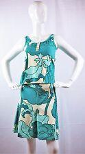 MOSCHINO Cheap & Chic Floral Print Two-piece Tank Top & Skirt Set Sz 8 / 10