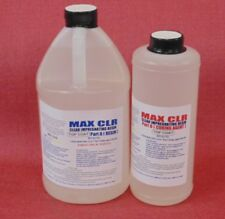 EPOXY RESIN TOP COAT 4 BUBBLE & BLEMISH FREE CRYSTAL CLEAR COATING 4 WOOD 96oz