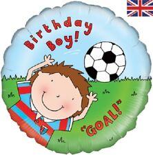 "18"" Foil Helium Balloon - Birthday Boy Goal! Happy Birthday Party Gift Deco"