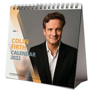 Colin Firth 2022 Desktop Calendar NEW Desk 12 Months Pretty Man
