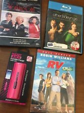 The Other Boleyn Girl DVD Blu-Ray Disc Movie Lot RV Working Girl New Charger Mix