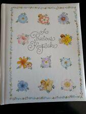 Vintage Hallmark A Precious Keepsake Baby Book