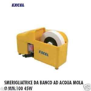 Mola smerigliatrice affilacoltelli ad acqua  EXCEL  dia 100  45 watt  cod 145879