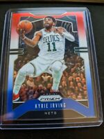 Kyrie Irving Nets PRIZMS RED WHITE BLUE REFRACTOR SP 2019-20 PANINI PRIZM