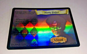 Harry Potter TCG HARRY POTTER #8/116 Holo Foil Rare Card Wizard WOTC Premium