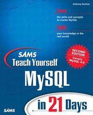 Sams Teach Yourself MySql in 21 Days (2nd Edition) (Sams Teach Yourself)