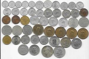 Dealer Flea Market Lot 50 Mix Date/Type China Taiwan Fen Yuan Coins 1930s-2000s