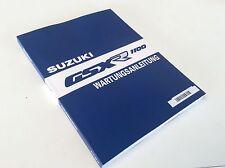 RARITÄT - original WERKSTATTHANDBUCH deutsch   Suzuki GSXR1100 89-92  NEU & OVP