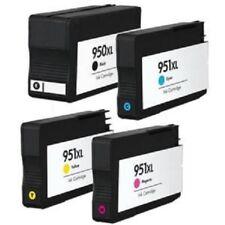 4 cartouches compatibles pour HP 950XL 951XL Officejet Pro 8620 8600 Plus 8100
