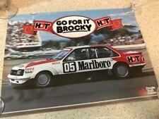 HOLDEN RACING HDT BATHURST 1985 COMMODORE Genuine Vintage Poster Peter Brock NOS