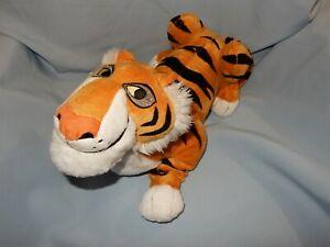 "Disney Store Jungle Book KHAN Plush Tiger 14"" length"