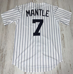 Nike New York Yankees Mickey Mantle Cooperstown Collection Team Jersey Size S