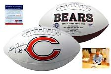 Gary Fencik SIGNED Chicago Bears Football - PSA/DNA Autographed w/ Photo