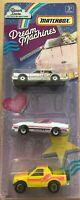 Matchbox Dream Machines - Lincoln Town Car, '87 Corvette & Isuzu Amigo