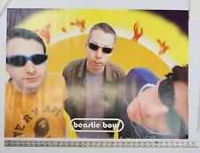Vintage Beastie Boys Hello Nasty Bape Poster Intergalactic A Bathing Ape 90s