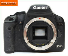 Canon EOS 500D 15MP DSLR Camera Body  Free UK Post
