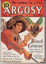 ARGOSY (12/26/1936) JOHNSTON McCULLEY, FREDERICK C. PAINTON, JAMES STEVENS