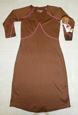 NWT Skirt Sports women's milk chocolate brown Happy Hour Dress Sz S