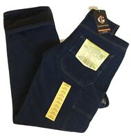 Men's Carpenter Style Fleece Lined Jeans