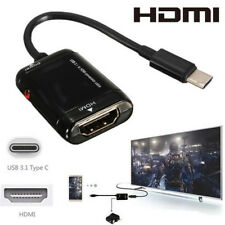 Micro USB to HDMI HD TV Adapter Cable Remote For MHL Android Phone Tablet