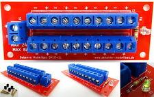 Fertigmodul Stromverteiler SV10+1L Gleich/Wechselstrom 8A max.24V mit Status LED