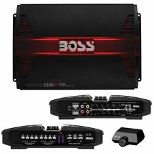 NEW BOSS PHANTOM PF2200 4 CHANNEL 2200 WATT AMP CAR AUDIO 2200W 4CH AMPLIFIER