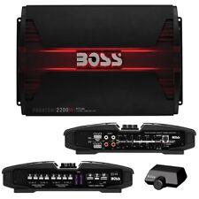 NEW BOSS PHANTOM PF2200 4 CHANNEL 2200 WATT AMP CAR AUDIO 2200W 4CH AMPLIFIER