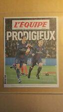 """""""LIGUE DES CHAMPIONS"""" / L'EQUIPE du 15/02/2017 PARIS-SG 4-0 FC BARCELONE (NEUF)"""
