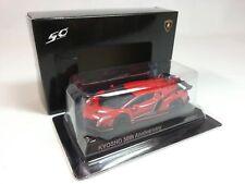 1:64 Kyosho Minicar Lamborghini Veneno 2013 Red 50th Anniversary Memorial RARE