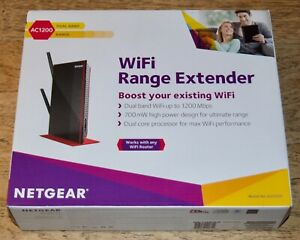 NETGEAR AC1200 Wireless (EX6200) Dual Band WiFi Range Extender