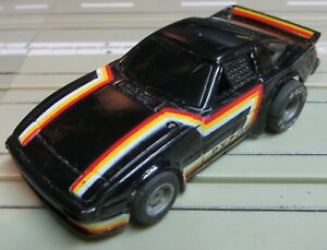 For H0 Slotcar Racing Model Railway Mazda Rx 7 With Tyco Chassis