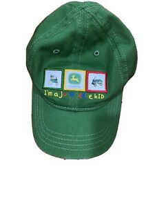 Toddler John Deere Cap Ball Hay Size S/M Color Green Embroidered Logos