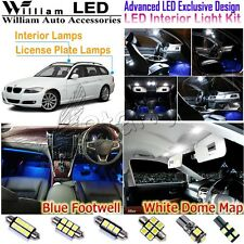 19pcs White LED Interior Light Kit+For BMW 3 Series E91 Wagon Panoramic SunRoof
