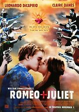 ROMEO AND JULIET DICAPRIO POSTER FILM A4 A3 A2 A1 LARGE FORMAT CINEMA MOVIE