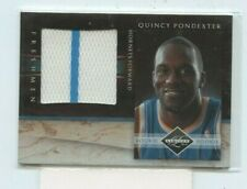 QUINCY PONDEXTER 2010-11 PANINI LIMITED FRESHMAN JUMBO JERSEY RELIC #D /99