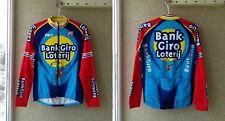 Cycliste SMS Santini BANK GIRO LOTERIJ Cycling Jersey trikot shirt M Vintage
