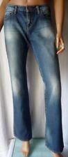 ***MISS SIXTY PANTALONE Jeans TG.28 Bottone logato BLU in cotone 100%