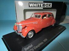 WHITE BOX BERLIET 11 CV DAUPHINE 1939 marron 1/43 MIB