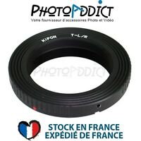 KIPON T2 LR - Bague d'adaptation objectif T2 vers boitier Leica R